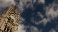 Basilica of the national vow, Quito, bell towers video