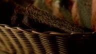 Basket of bread video
