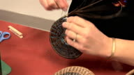 Basket weaving video
