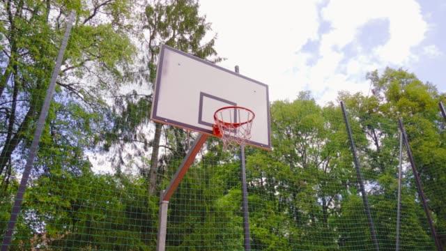 POV: basketball basket video