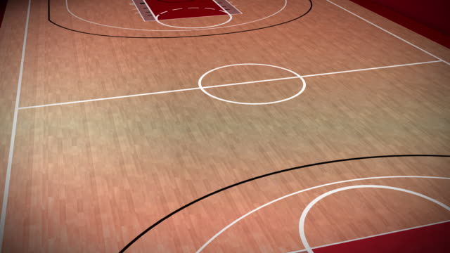Basketball Court loopable video
