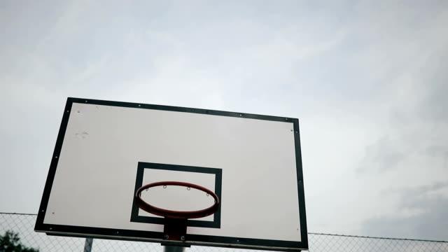 Basketball courtyard video