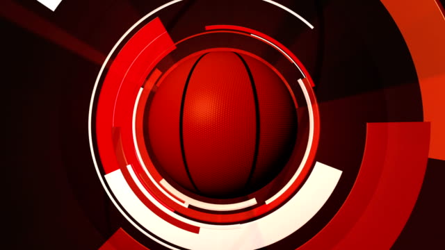Basketball Graphic Animation video