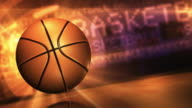Basketball Loopable Background HD video