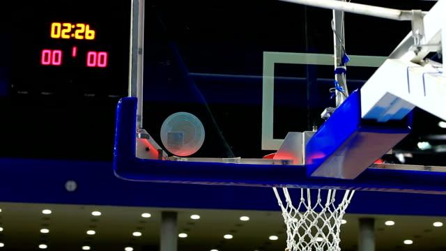 Basketball match of great importance video