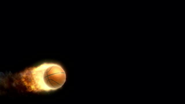 Basketball on Fire video
