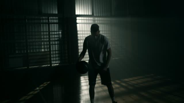 Basketball player video