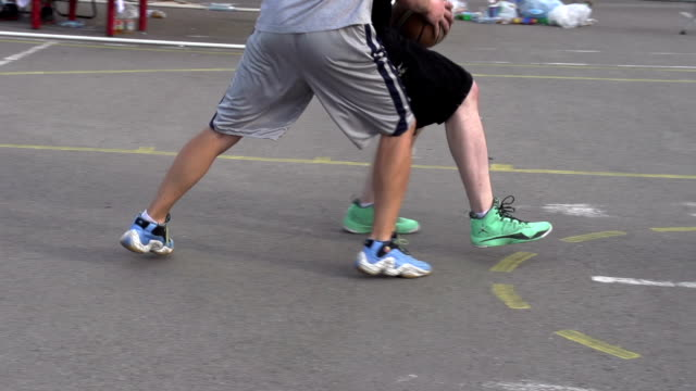 Basketball Players on the Court video