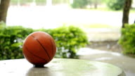 Basketball rainy day video