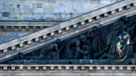 Bas-relief of St. Isaac's Cathedral video
