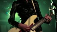 Bass guitar. video