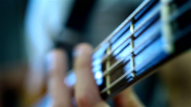Bass Guitarist Playing video