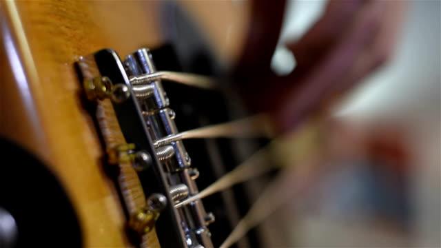 Bass Guitarist Plays Music video