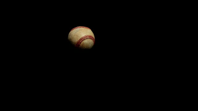 Bat hitting baseball with Sound Slow motion video