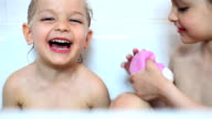Bath time video