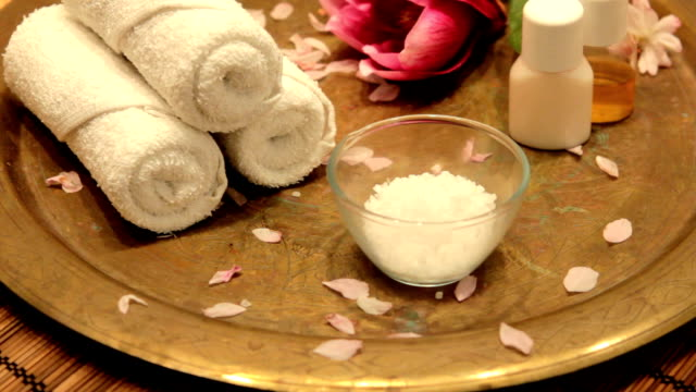 Bath treatment video