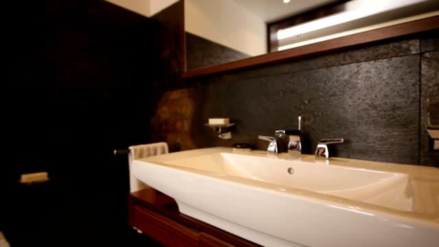 Bathroom interior video