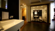 Bathroom showroom video