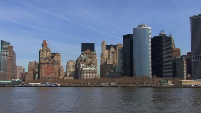 NYC Battery Park II HD video