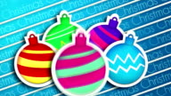 Baubles Bounce Christmas Greeting 2014 Animation video