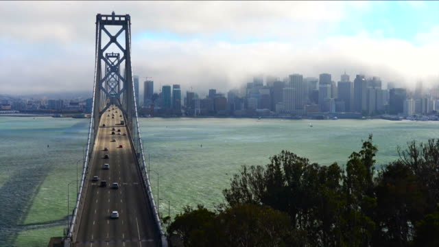 Bay Bridge Timelapse, San Francisco video