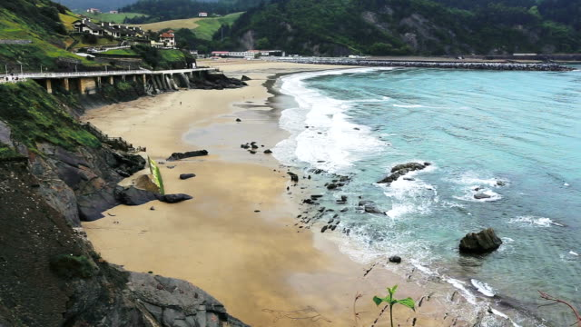 Bay of Biscay seascape video