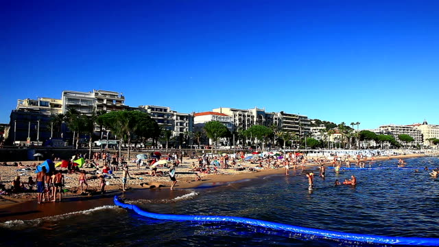 Bay of Cannes in France video