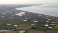 Bay Of Somme  - Aerial View - Picardie, Somme, Arrondissement d'Abbeville, France video