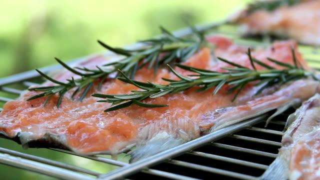 bbq salmon oliva oil dress video