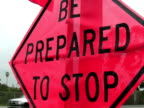 Be Prepared to Stop video