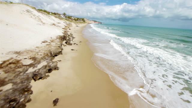 Beach aerial video