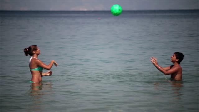 Beach and ball video