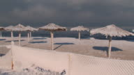 beach and blizzard video