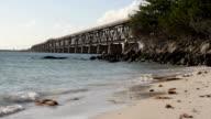 Beach and Bridge video