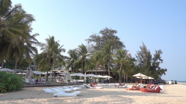 Beach and sea video