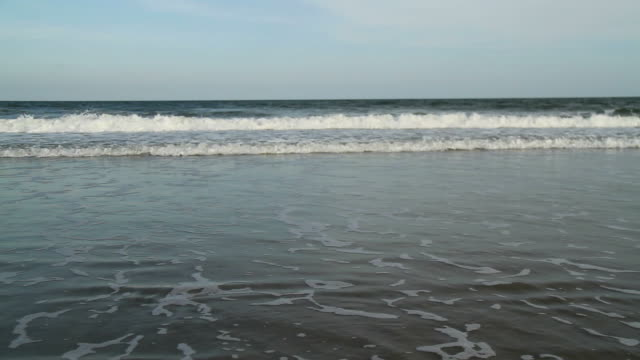 Beach and Waves video