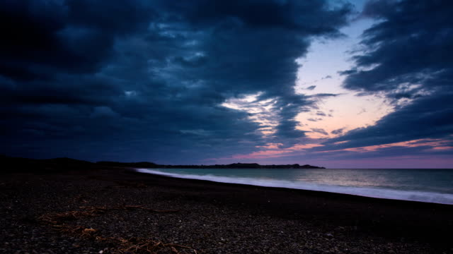 TIME LAPSE: Beach at Sunset video