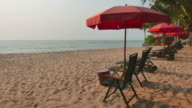 Beach bed video