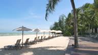 Beach chair video