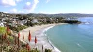 Beach cove overlook video