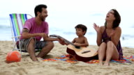 Beach family fun video