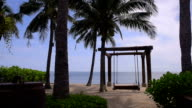 beach front of the resort video