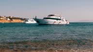Beach in Egypt. Resort Red Sea Coast video