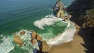 Beach in Sintra video