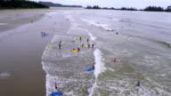 Beach in Tofino video