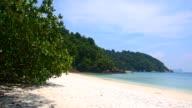 beach of NyaungOoPhee island, Myanmar video