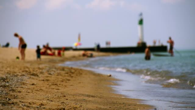 Beach scene video