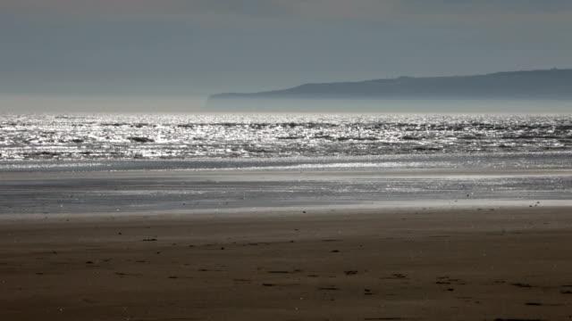 Beach scene with copyspace video