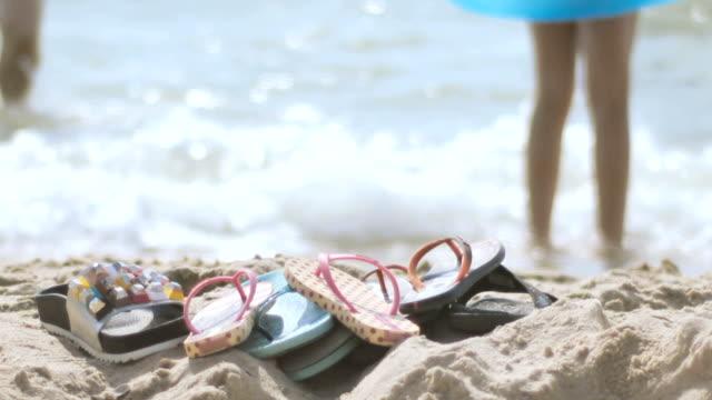 beach shoes on the beach video