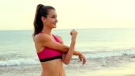 Beach Stretch video